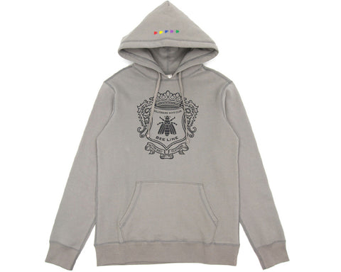 BEE LINE BEE LINE SUEDED HOODY - GREY