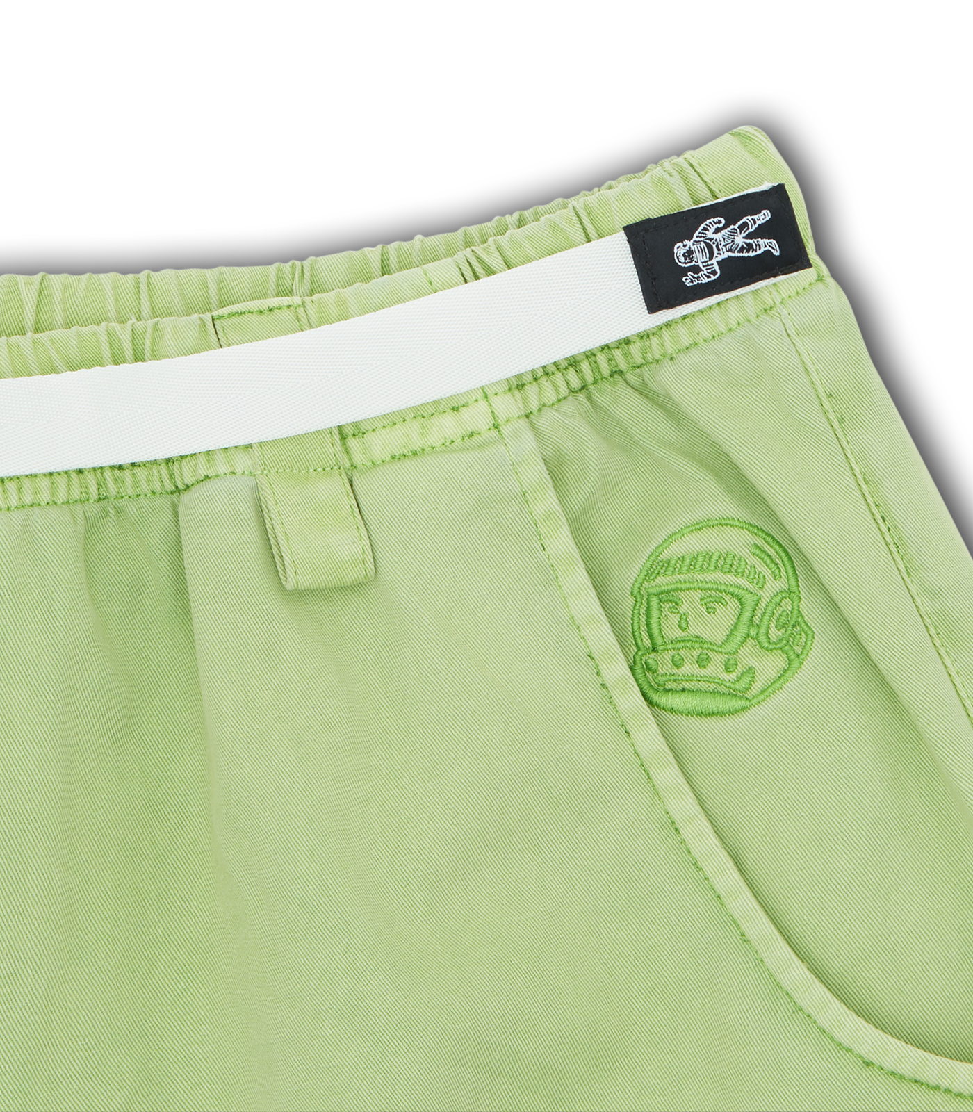 BELTED SHORTS - GREEN