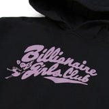 Billionaire Girls Club BGC Cropped Pullover - Black