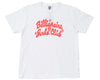 Billionaire Girls Club BGC HEART FLOATER T-SHIRT - WHITE