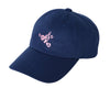 Billionaire Girls Club BGC HEART CHASER STRAPBACK CAP - NAVY