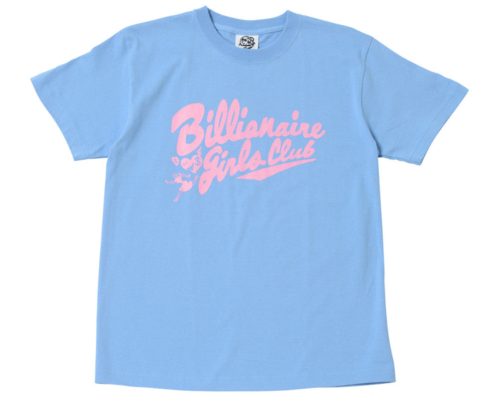 Billionaire Girls Club BGC SCRIPT CHASER T-SHIRT - SAX