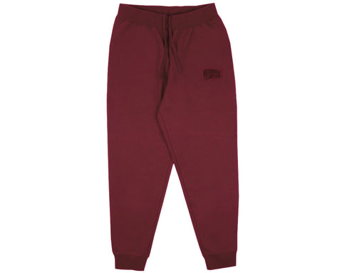 Billionaire Boys Club Pre-Fall '17 SMALL ARCH LOGO SWEATPANTS - BURGUNDY