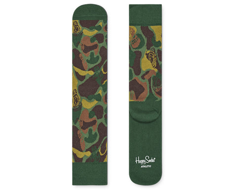 Billionaire Boys Club HAPPY SOCKS X BBC CAMO SOCKS - MULTI