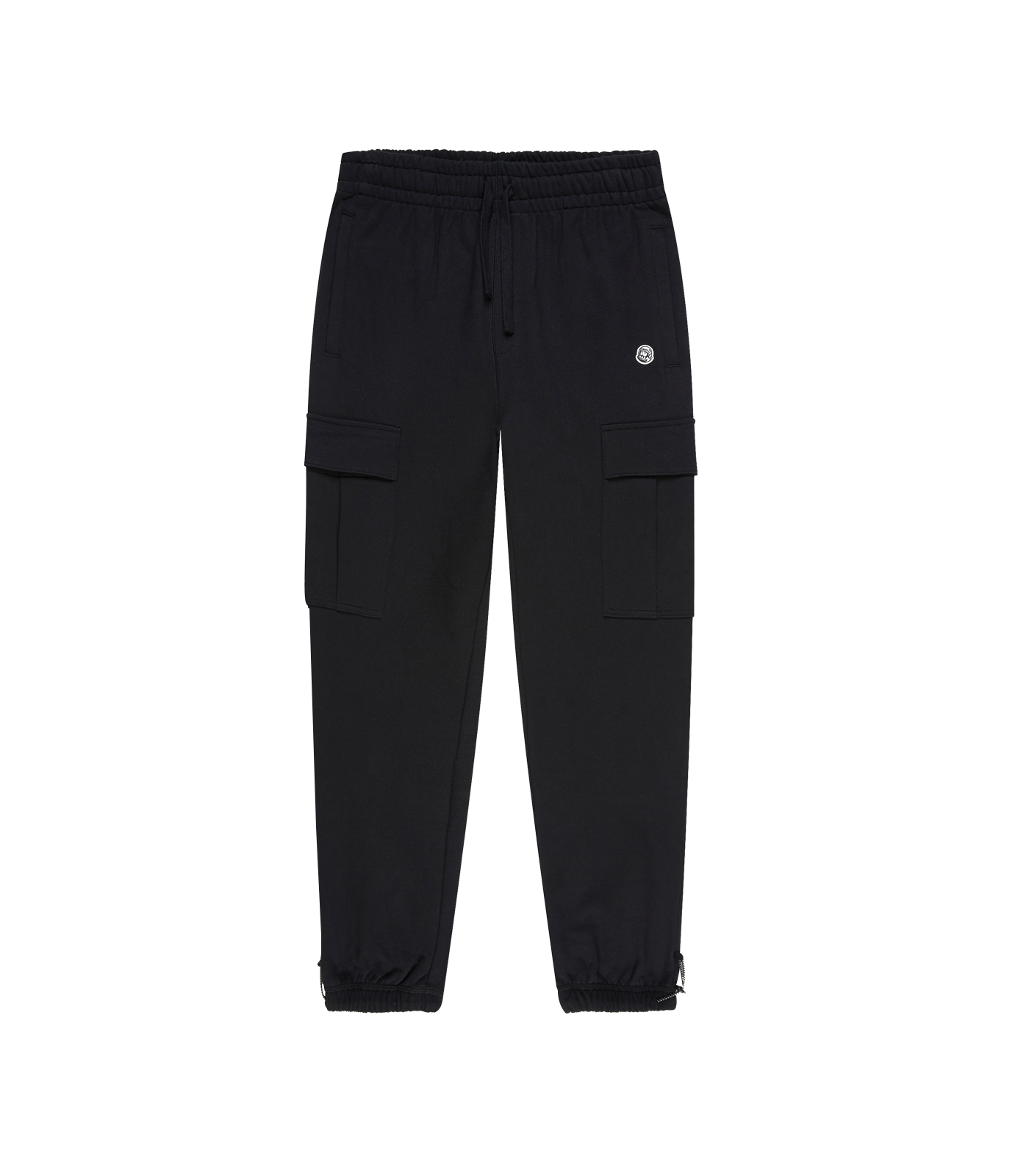 COTTON CARGO SWEATPANT - BLACK
