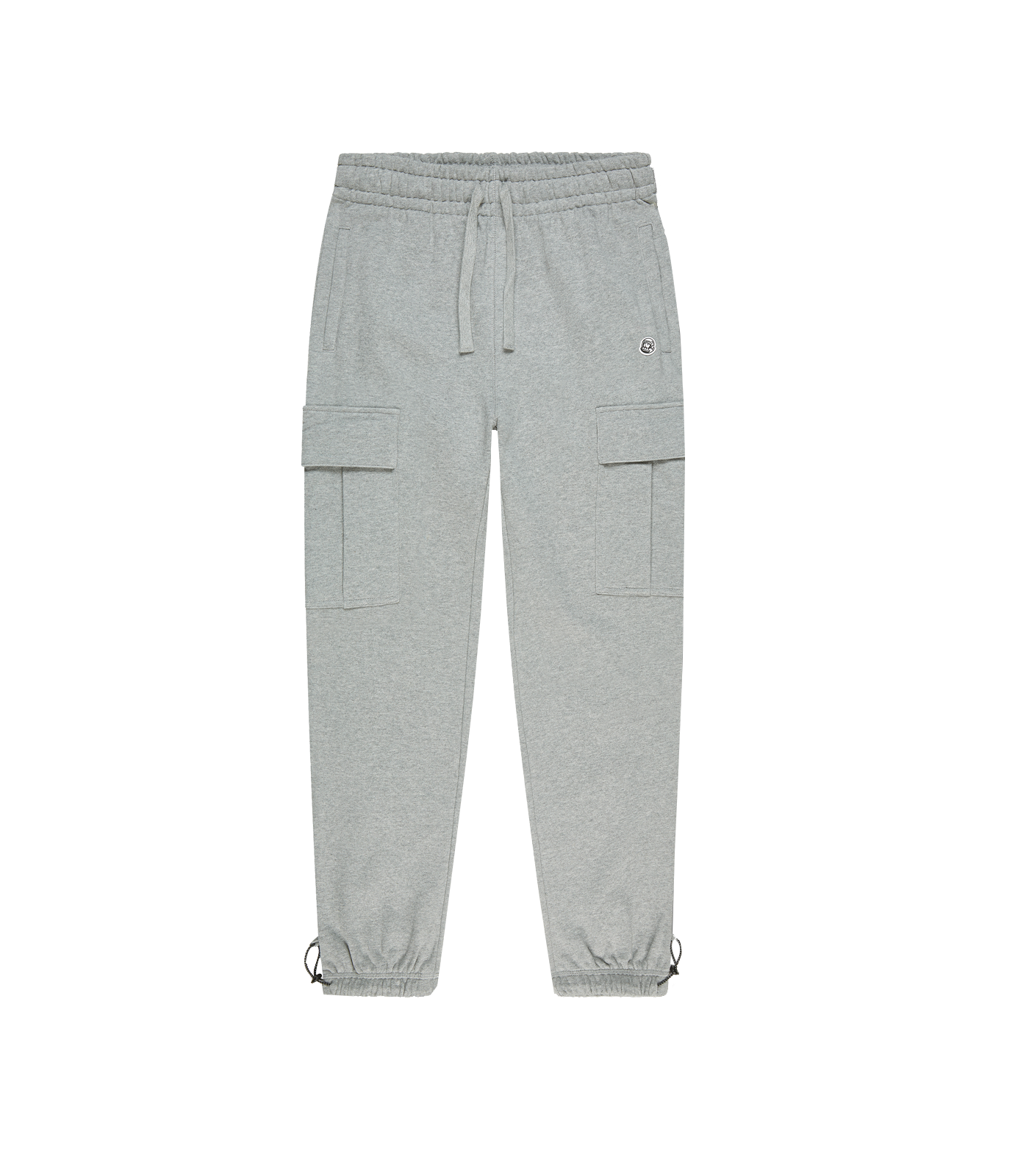 COTTON CARGO SWEATPANT - HEATHER GREY