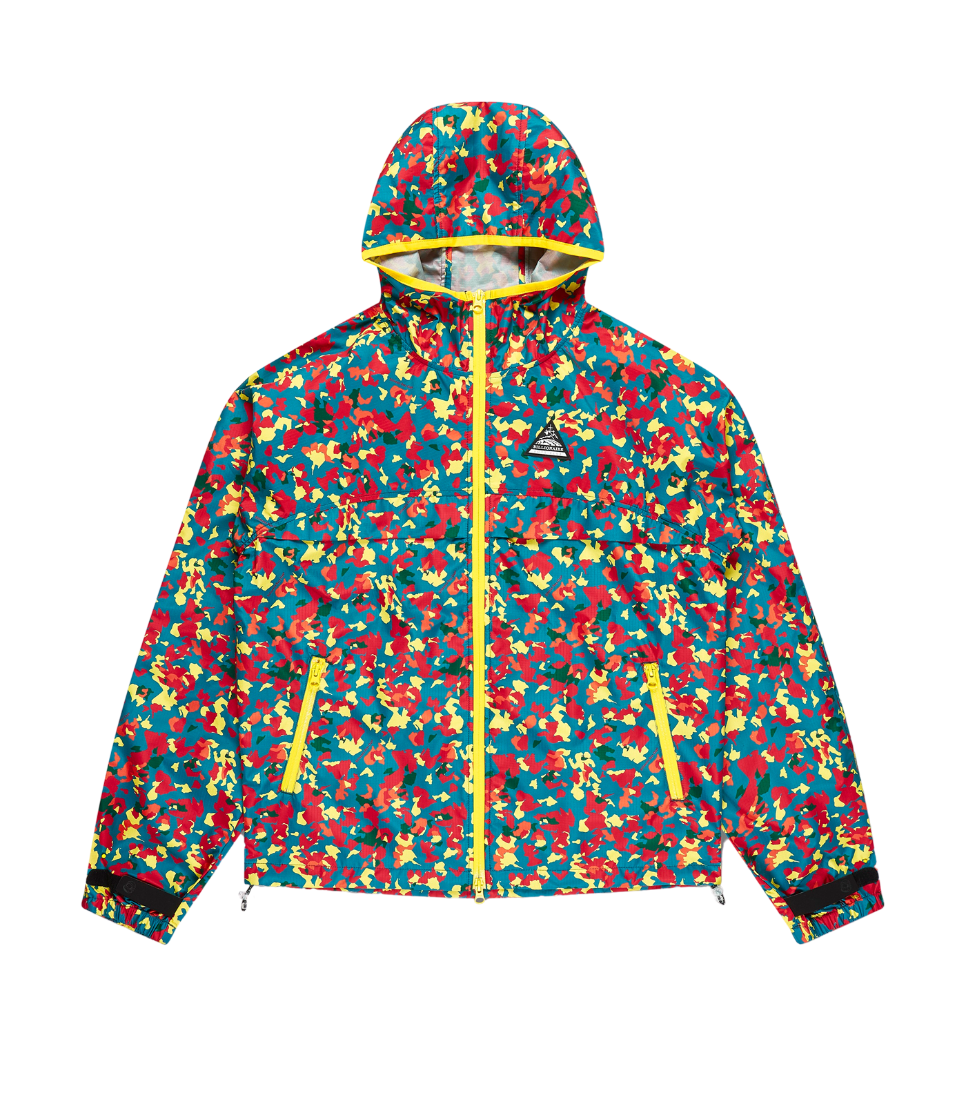 CONFETTI PRINT LIGHTWEIGHT HOODED JACKET
