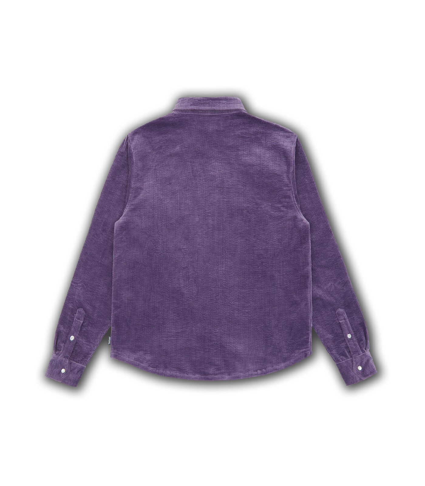 CORDUROY SHIRT - PURPLE