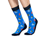 Billionaire Boys Club HAPPY SOCKS X BBC DOT SOCKS - BLUE