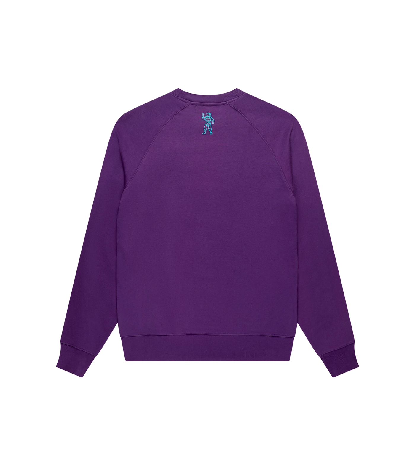 EMBROIDERED LOGO CREWNECK - PURPLE