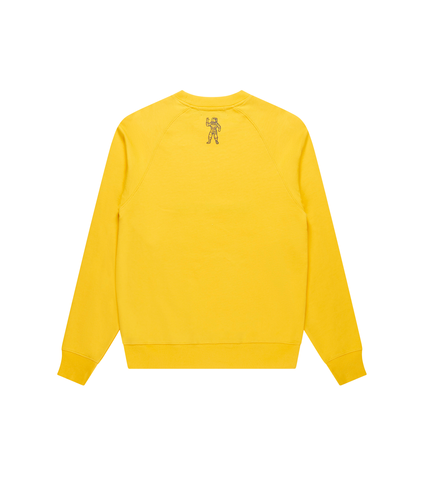 EMBROIDERED LOGO CREWNECK - YELLOW