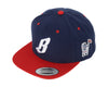 Billionaire Boys Club FLYING B SNAPBACK HAT - NAVY/RED