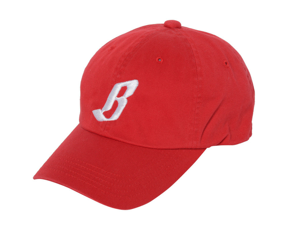 Billionaire Boys Club FLYING B STRAPBACK CAP - RED