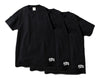 Billionaire Boys Club BBC X FOTL TEE 3-PACK - BLACK