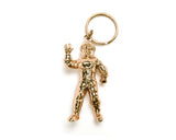 Billionaire Boys Club ASTRONAUT KEY CHAIN - GOLD