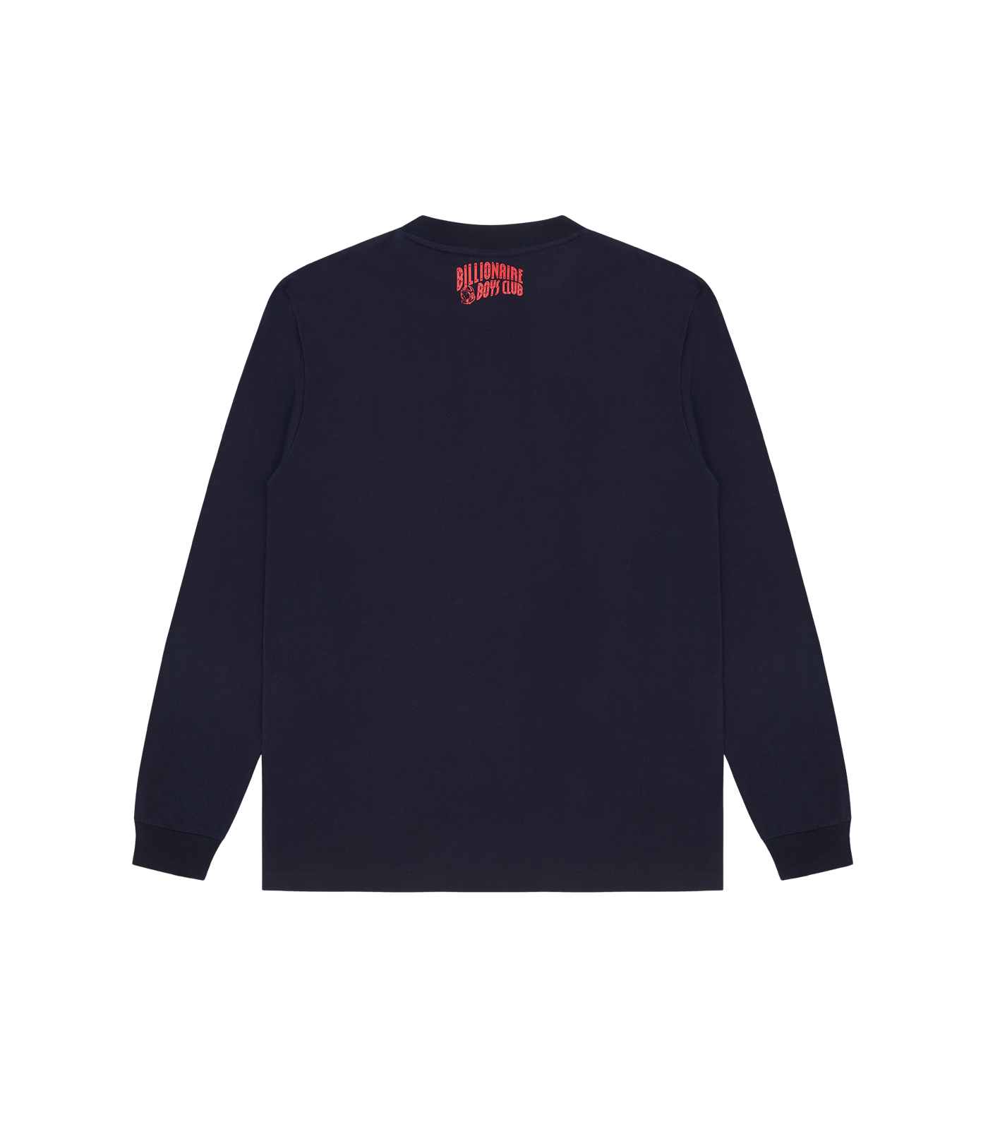 HEART & MIND FELT PATCH L/S T-SHIRT - NAVY