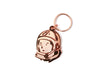 Billionaire Boys Club HELMET HEAD KEY CHAIN - ROSE GOLD