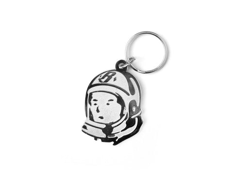 Billionaire Boys Club HELMET HEAD KEY CHAIN - SILVER