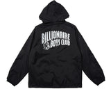 Billionaire Boys Club ONE POINT HELMET ZIP HOODED JACKET - BLACK