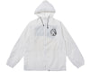 Billionaire Boys Club ONE POINT HELMET ZIP HOODED JACKET - WHITE