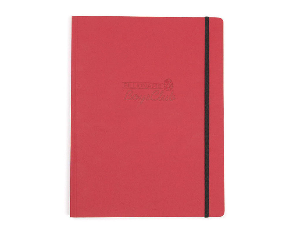 Billionaire Boys Club HELMET LOGO A4 JOURNAL - RED