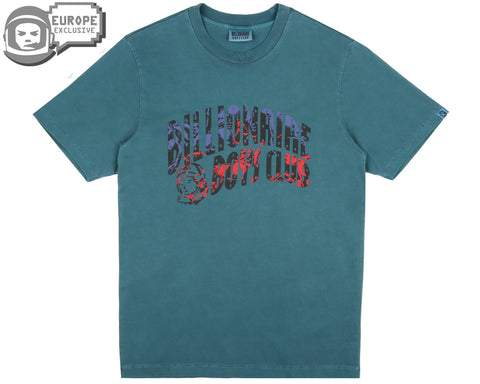 Billionaire Boys Club Spring '19 HORSEPOWER ARCH LOGO T-SHIRT - TEAL