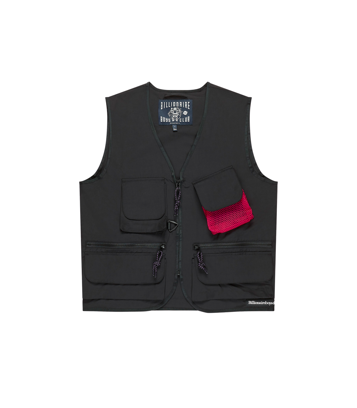 LIGHTWEIGHT UTILITY VEST - BLACK