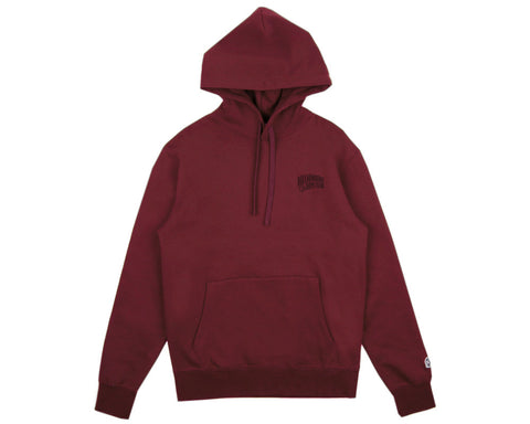Billionaire Boys Club Classics SMALL ARCH LOGO HOODY - BURGUNDY