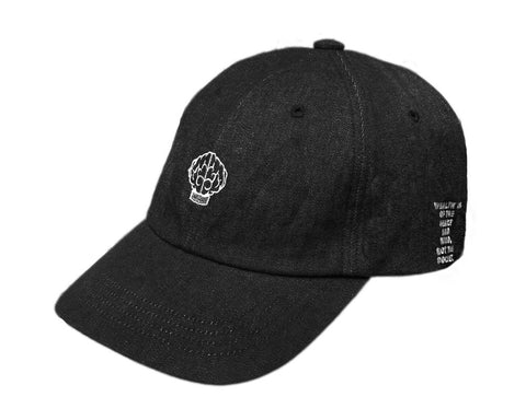Billionaire Boys Club EU MIND STRAPBACK HAT - BLACK DENIM