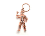 Billionaire Boys Club ASTRONAUT KEY CHAIN - ROSE GOLD