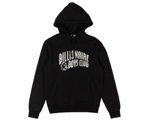 Billionaire Boys Club Pre-Spring '17 GLITTER PACK ARCH LOGO POP OVER HOOD - BLACK/SILVER