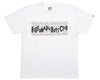 Billionaire Boys Club SLJ LOGO T-SHIRT - WHITE