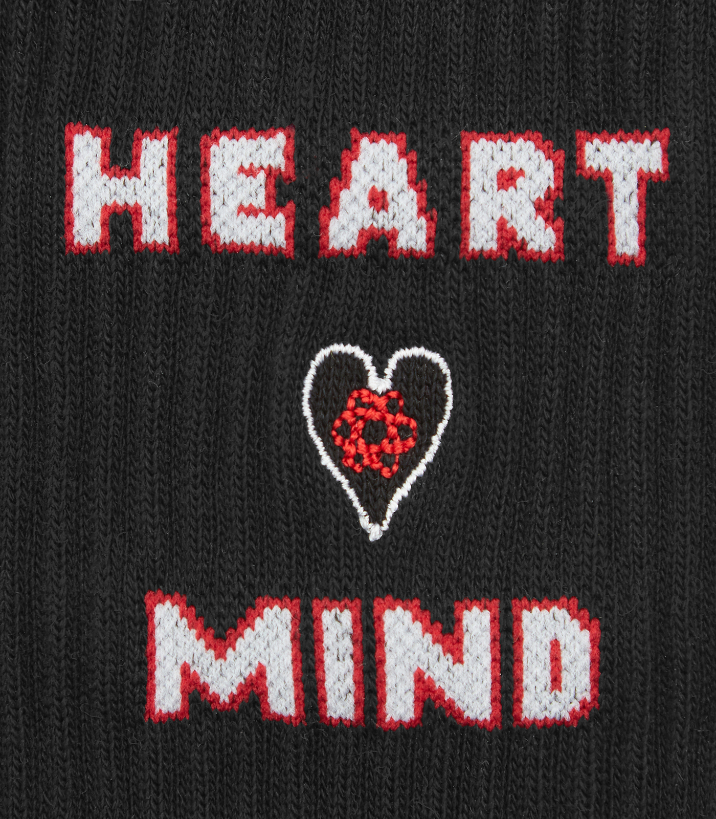 HEART & MIND SOCKS - BLACK