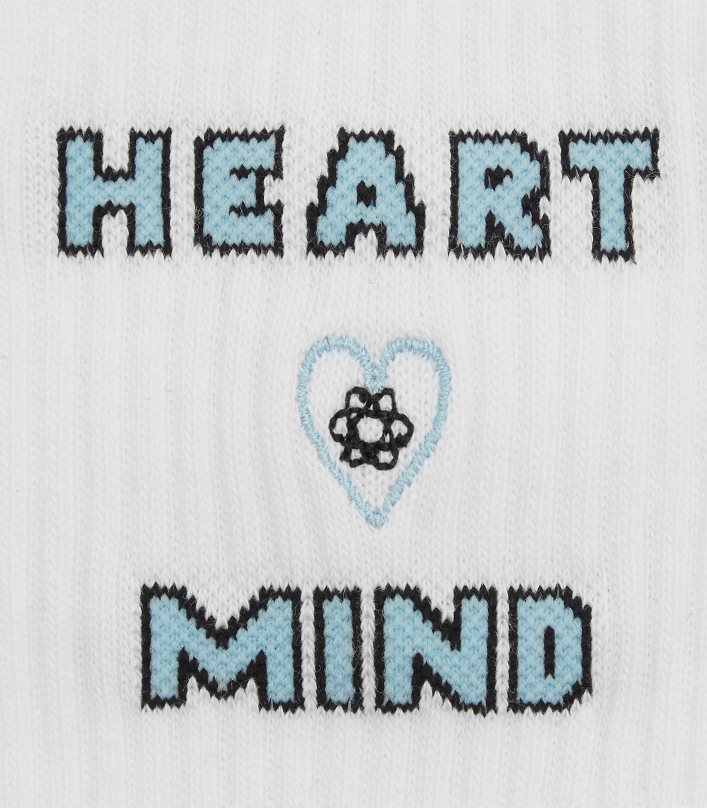 HEART & MIND SOCKS - WHITE