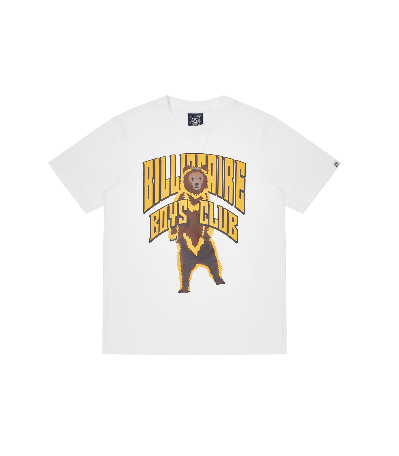 STANDING BEAR LOGO T-SHIRT - WHITE