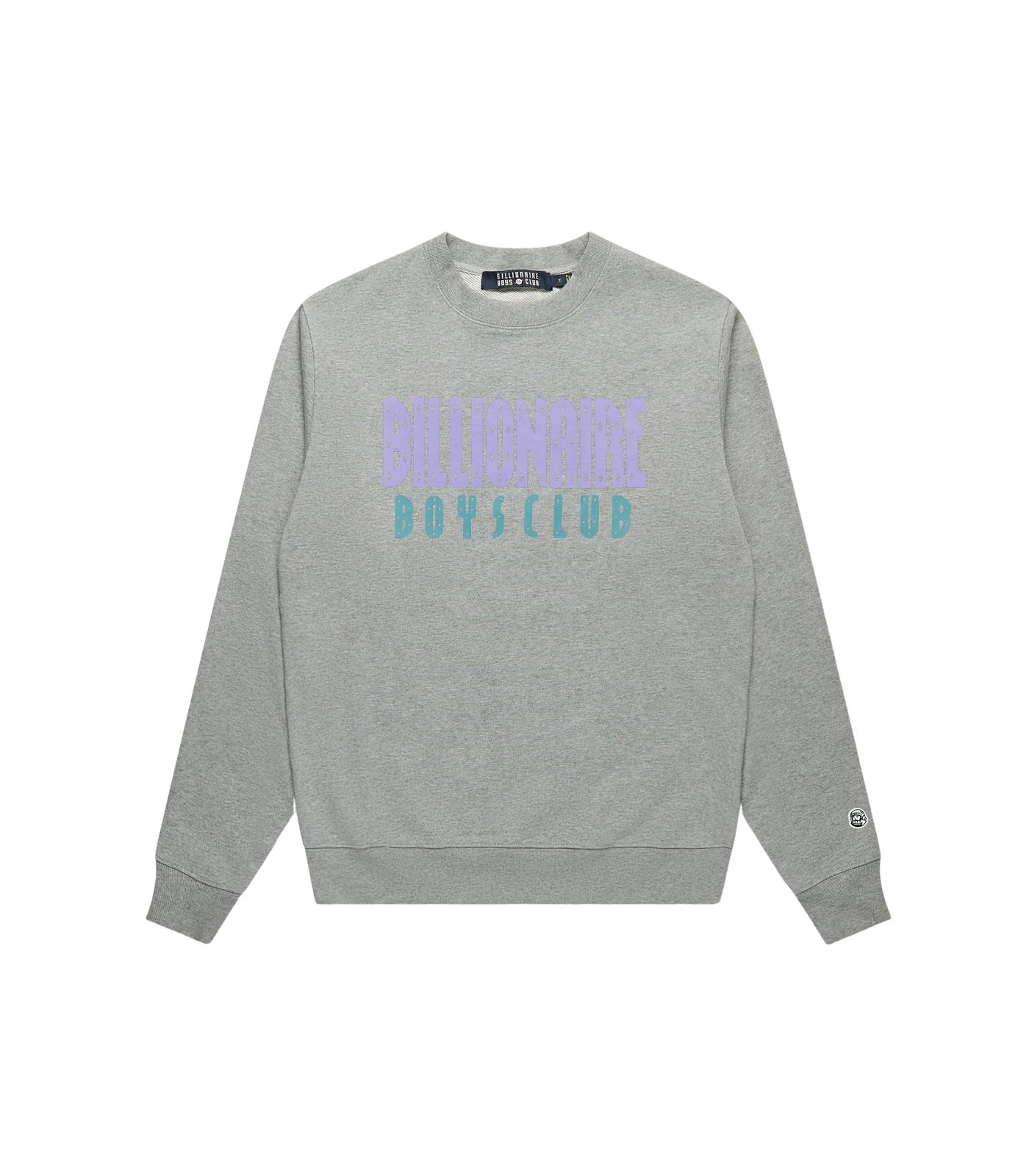 STRAIGHT LOGO CREWNECK - GREY