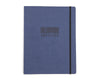 Billionaire Boys Club STRAIGHT LOGO A4 JOURNAL - NAVY