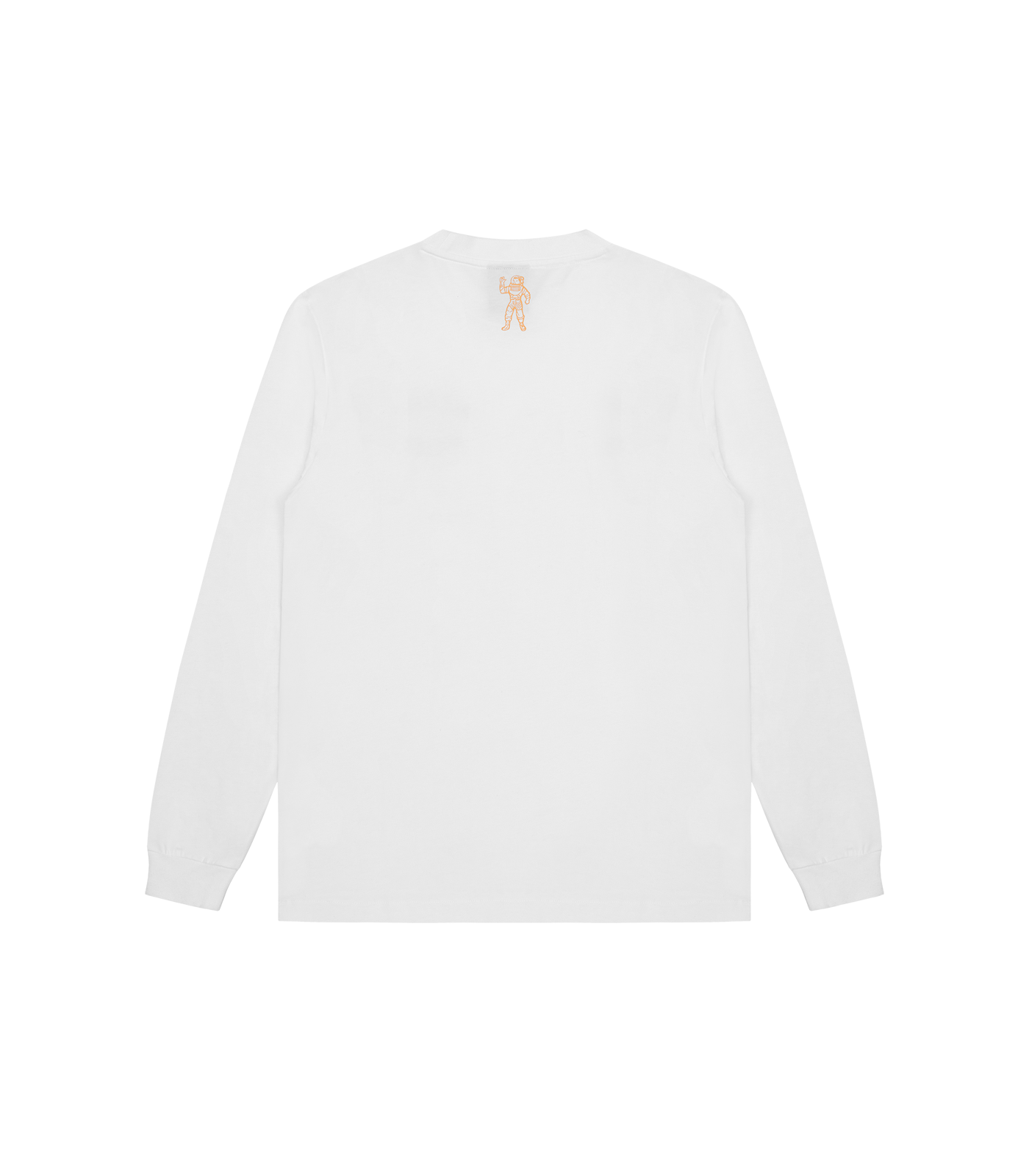STRAIGHT LOGO L/S T-SHIRT - WHITE