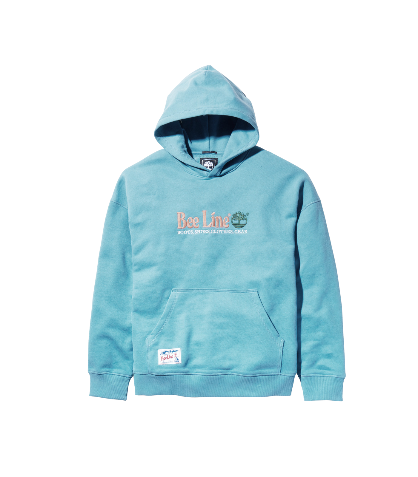 BEE LINE TIMBERLAND POPOVER HOOD - BLUE