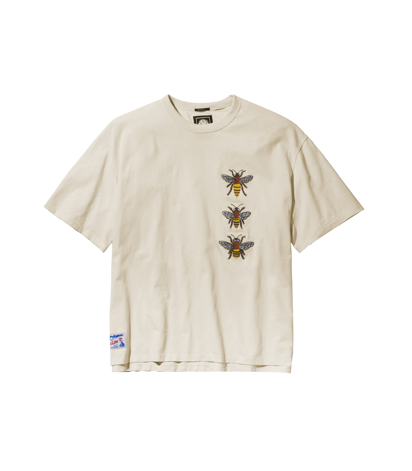 BEE LINE TIMBERLAND S/S T-SHIRT- WHITE SMOKE