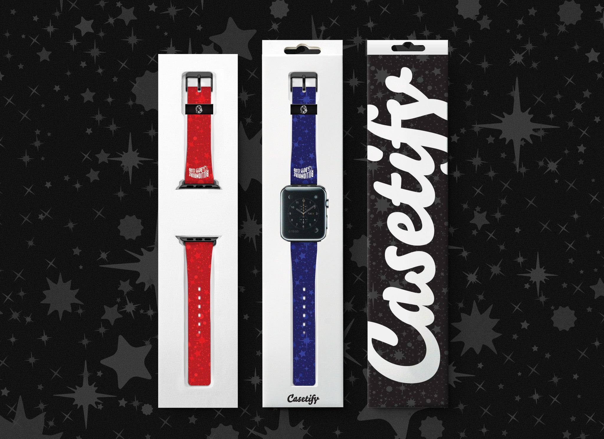 Billionaire Boys Club EU Casetify Apple Watch Strap - Blue Stardust