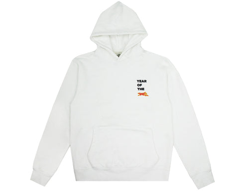 ICECREAM YEAR OF THE DOG HOODIE - WHITE