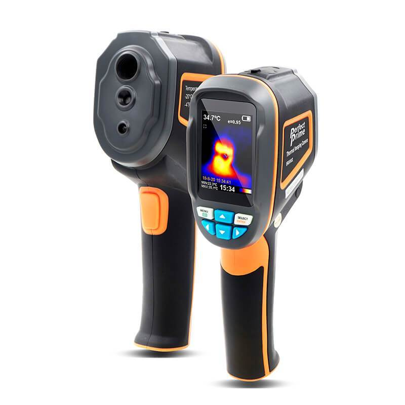 Perfect Prime Thermal Imager camera IR0002, Front and back