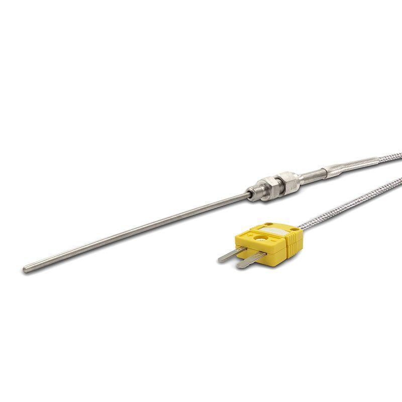 K-Type Sensor Metal Head Probe, flat