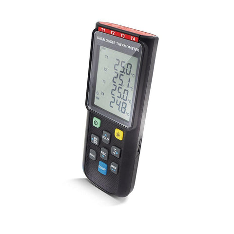 PerfectPrime TC0520 Datalogger Thermometer side
