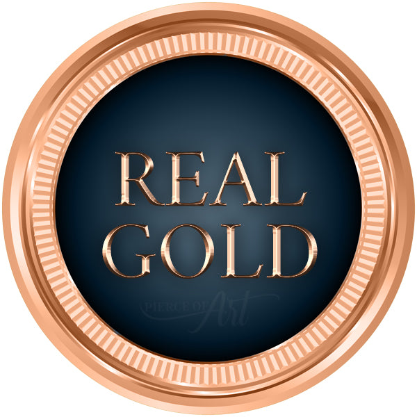 Real Gold Body Piercing Jewellery