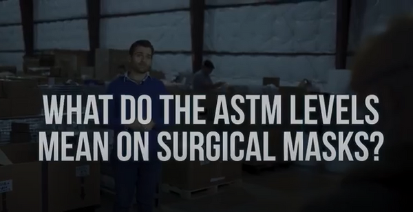 What do the ASTM Levels mean on Surgical Mask packaging? - Armbrust American