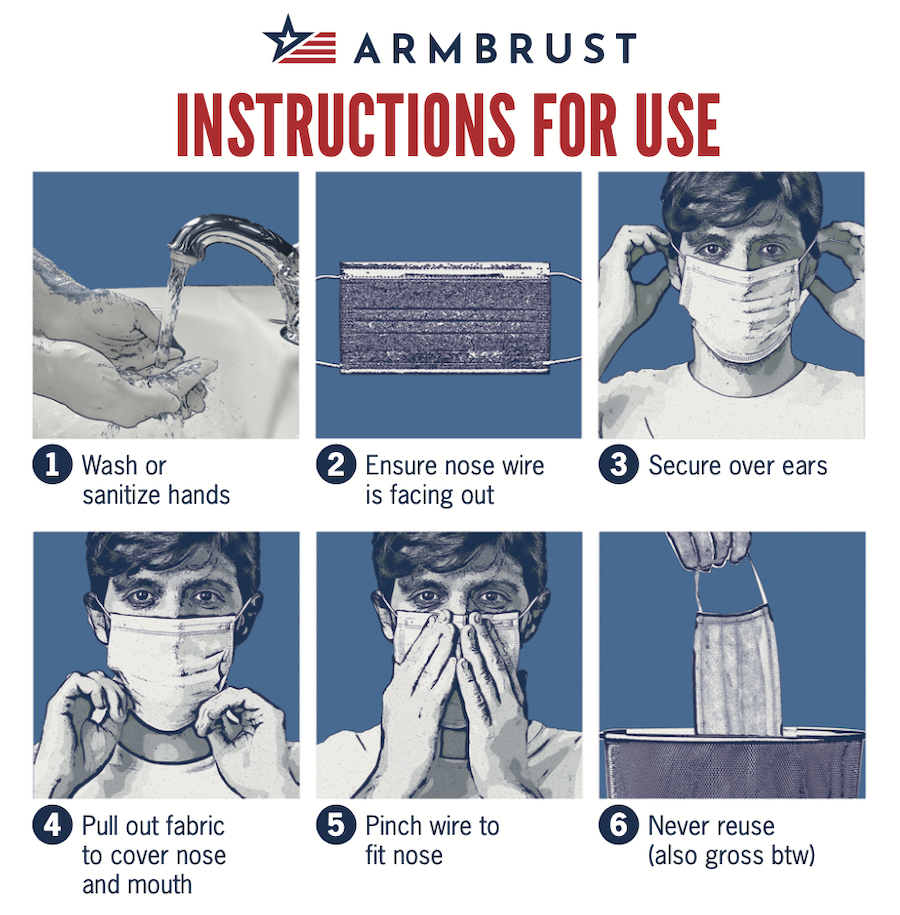 Instructions for Mask Use
