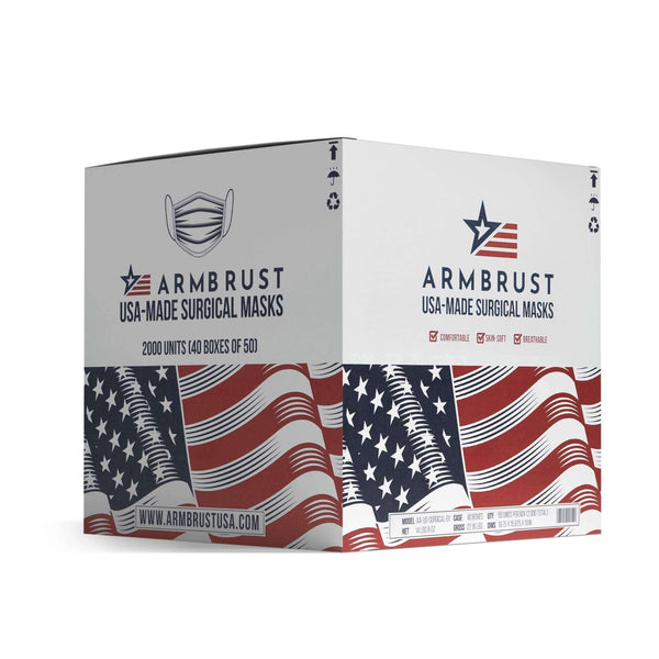 Surgical Masks - Made in the USA - Armbrust American
