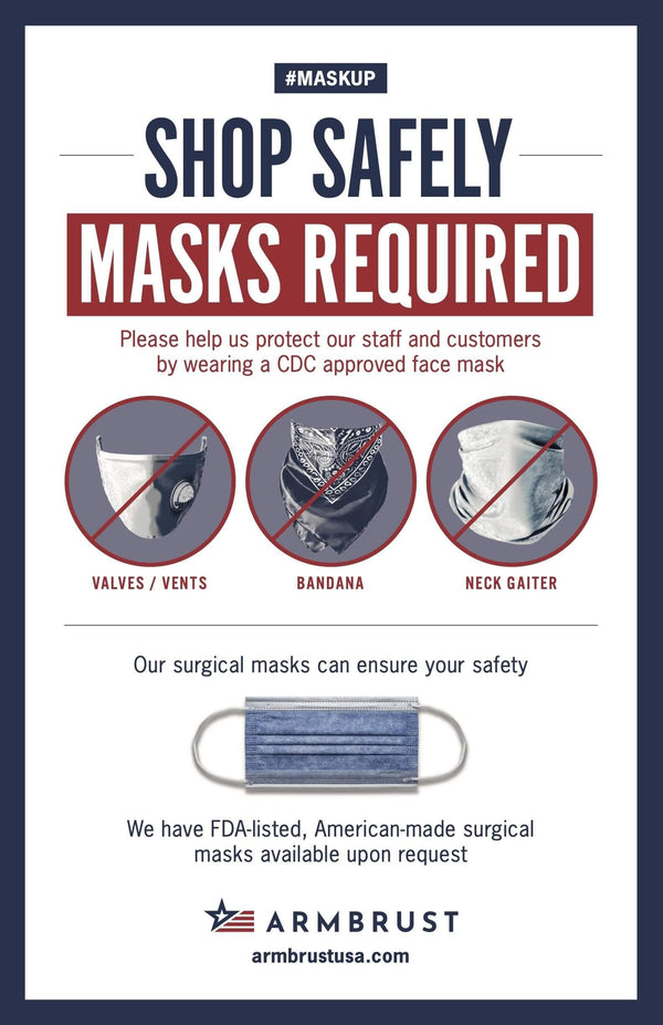 Small Business Special Offer: 500 Mask Pack - Armbrust American